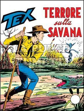 TEX GIGANTE #    93: TERRORE SULLA SAVANA