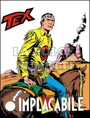 TEX GIGANTE #   105: L'IMPLACABILE