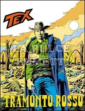 TEX GIGANTE #   115: TRAMONTO ROSSO