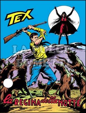 TEX GIGANTE #   136: LA REGINA DELLA NOTTE
