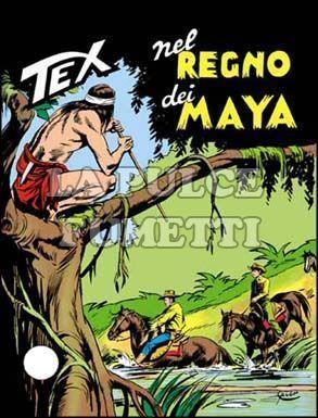 TEX GIGANTE #   163: NEL REGNO DEI MAYA