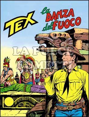 TEX GIGANTE #   164: LA DANZA DEL FUOCO