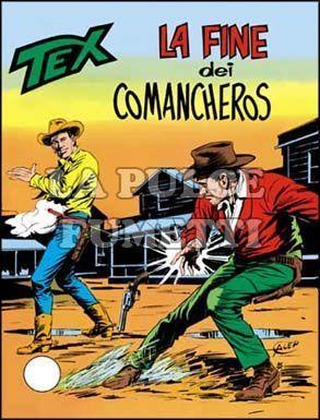 TEX GIGANTE #   166: LA FINE DEI COMANCHEROS