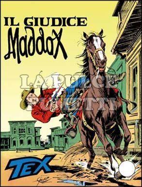 TEX GIGANTE #   185: IL GIUDICE MADDOX
