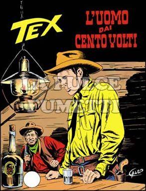 TEX GIGANTE #   186: L'UOMO DAI CENTO VOLTI