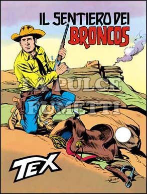 TEX GIGANTE #   188: IL SENTIERO DEI BRONCOS