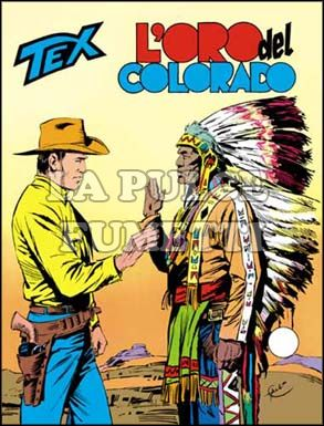 TEX GIGANTE #   201: L'ORO DEL COLORADO