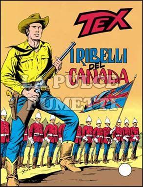 TEX GIGANTE #   204: I RIBELLI DEL CANADA