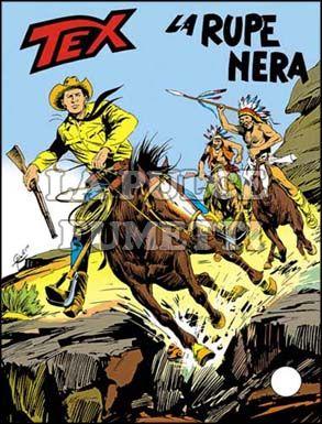 TEX GIGANTE #   205: LA RUPE NERA