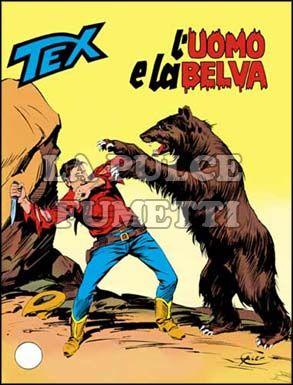 TEX GIGANTE #   222: L'UOMO E LA BELVA