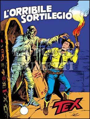 TEX GIGANTE #   229: L'ORRIBILE SORTILEGIO