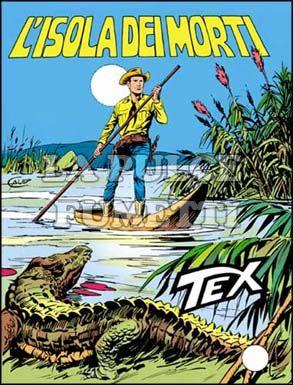 TEX GIGANTE #   231: L'ISOLA DEI MORTI