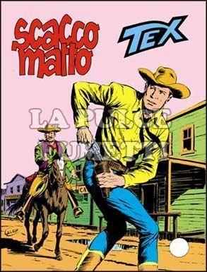 TEX GIGANTE #   233: SCACCO MATTO