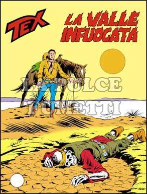 TEX GIGANTE #   255: LA VALLE INFUOCATA