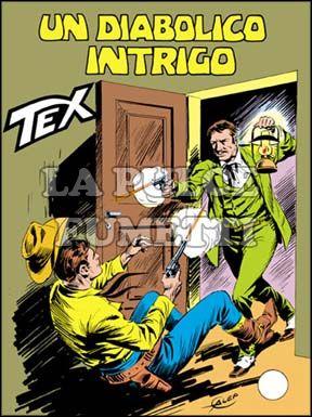 TEX GIGANTE #   274: UN DIABOLICO INTRIGO