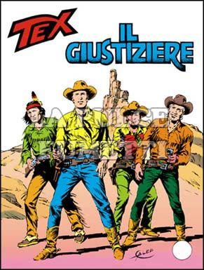 TEX GIGANTE #   281: IL GIUSTIZIERE