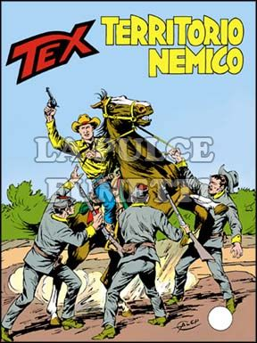 TEX GIGANTE #   298: TERRITORIO NEMICO