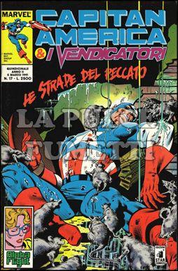 CAPITAN AMERICA E I VENDICATORI #    17: LE STRADE DEL PECCATO