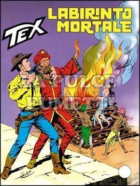 TEX GIGANTE #   314: LABIRINTO MORTALE