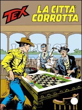 TEX GIGANTE #   323: LA CITTA'  CORROTTA