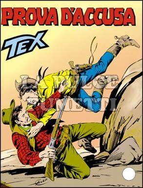 TEX GIGANTE #   338: PROVA D'ACCUSA