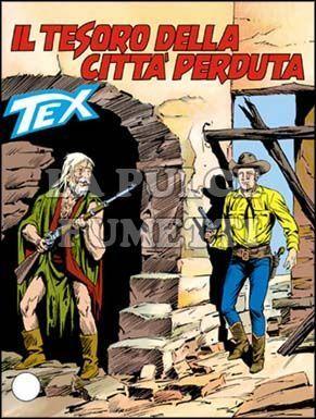 TEX GIGANTE #   358: IL TESORO DELLA CITTA'  PERDUTA