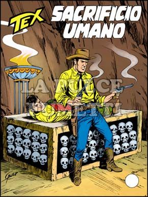 TEX GIGANTE #   392: SACRIFICIO UMANO