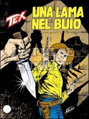 TEX GIGANTE #   397: UNA LAMA NEL BUIO