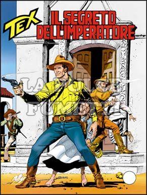 TEX GIGANTE #   439: IL SEGRETO DELL'IMPERATORE