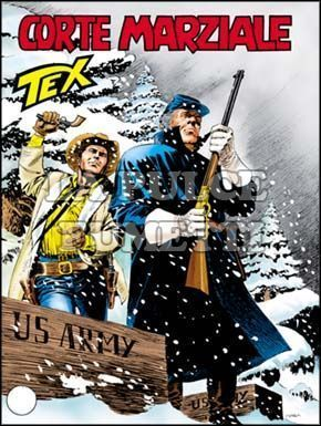 TEX GIGANTE #   549: CORTE MARZIALE