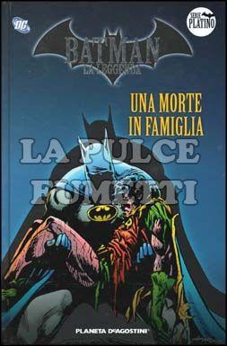 BATMAN LA LEGGENDA #     5: UNA MORTE IN FAMIGLIA
