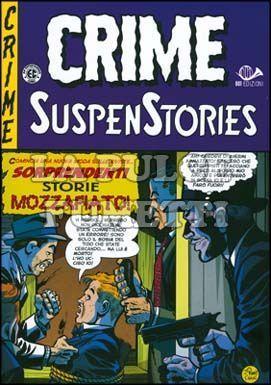 CRIME SUSPENSTORIES #     1: LA DOPPIA CROCE DELLA MORTE
