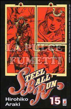 ACTION #   181 - JOJO STEEL BALL RUN 15