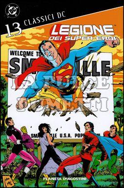 CLASSICI DC - LEGIONE DEI SUPER-EROI #    13