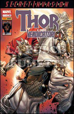 THOR #   118 - E I NUOVI VENDICATORI - SECRET INVASION INFILTRATION
