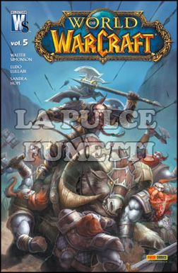 PANINI COMICS MEGA #     5 - WORLD OF WARCRAFT  5