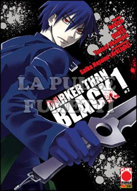 MANGA GRAPHIC NOVEL #    55 - DARKER THAN BLACK  1