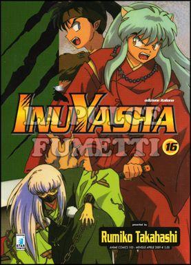 ANIME COMICS #   100 - INUYASHA 16