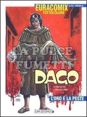 EURACOMIX #   243 - DAGO 63: L'ORO E LA PESTE