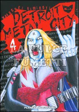 DETROIT METAL CITY #     4