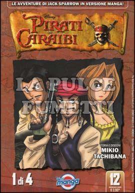 DISNEY MANGA #    12 - PIRATI DEI CARAIBI 1