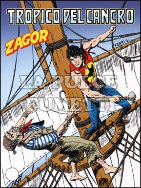 ZENITH #   573 - ZAGOR 522: TROPICO DEL CANCRO