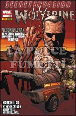 WOLVERINE #   231 - VECCHIO LOGAN - SECRET INVASION