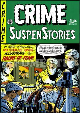 CRIME SUSPENSTORIES #     2: ORRORE SOTTO IL TENDONE