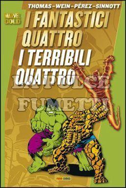 MARVEL GOLD - FANTASTICI QUATTRO: I TERRIBILI QUATTRO