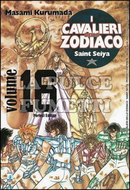CAVALIERI DELLO ZODIACO PERFECT EDITION #    16