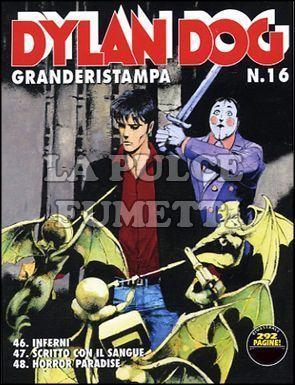 DYLAN DOG GRANDE RISTAMPA #    16