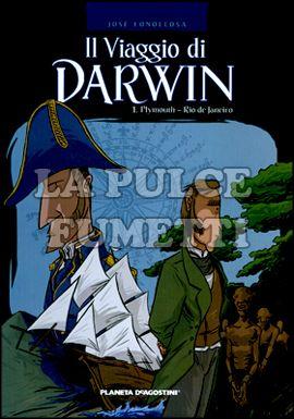 VIAGGIO DI DARWIN #     1: PLYMOUTH - RIO DE JANEIRO