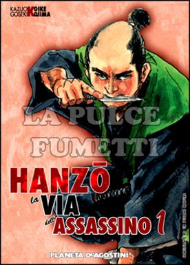HANZO LA VIA DELL'ASSASSINO #     1