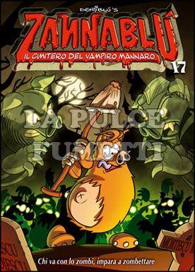 ZANNABLU #    17: IL CIMITERO DEL VAMPIRO MANNARO